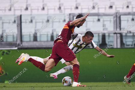 Editorial image of Juventus v Roma, Serie A, Football, Allianz Stadium, Turin, Italy - 01 Aug 2020