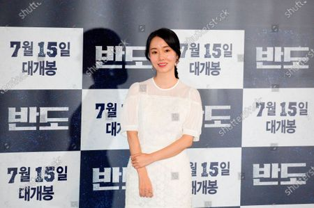 "Editorial photo of Press conference for Korean movie ""Peninsula"" in Seoul, Seoul, South Korea - 09 Jul 2020"