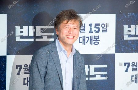 "Kwon Hae-Hyo : South Korean actor Kwon Hae-Hyo attends a press conference for movie ""Peninsula"" in Seoul, South Korea. Movie ""Peninsula"" is a sequel to 2016 zombie blockbuster ""Train to Busan"" and tells a tale of survivors on the zombie-infested Korean peninsula four years after the events in ""Train to Busan"". The film was selected for the official lineup of this year's Cannes Film Festival."