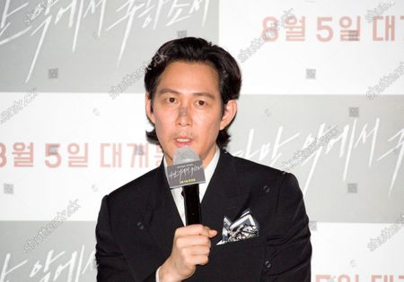 "Editorial picture of Press conference for Korean movie ""Deliver Us From Evil"" in Seoul, Seoul, South Korea - 28 Jul 2020"