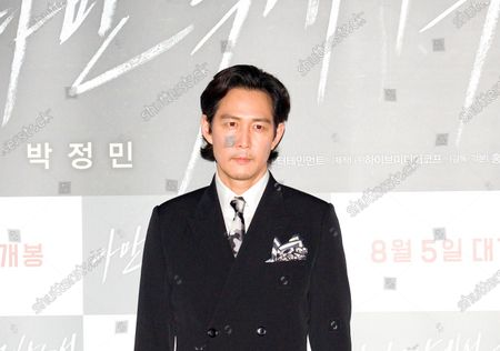 """Lee Jung-Jae : South Korean actor Lee Jung-Jae attends a press conference after a press screening for Korean movie """"Deliver Us From Evil"""" in Seoul, South Korea. The action thriller's background is Japan, South Korea and Thailand."""