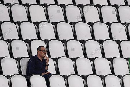 Coach Maurizio Sarri of Juventus FC