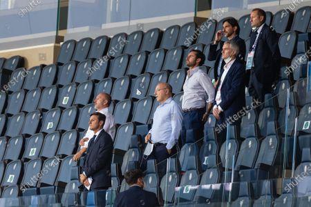 Editorial photo of Atalanta v Inter, Italian Series A, Bergamo, Italy - 01 Aug 2020