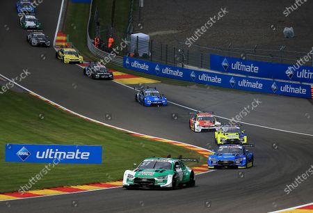 Nico Muller (CH#51), Audi Sport Team Abt Sportsline, Robin Frijns (NL#4), Audi Sport Team Abt Sportsline, Mike Rockenfeller (DEU#99), Audi Sport Team Phoenix, Sheldon van der Linde (ZAF#31), BMW Team RBM, Philipp Eng (AUT#25), BMW Team RBM, Lucas Auer (AUT#22), BMW Team RMR, Timo Glock (DEU#16), BMW Team RMG, Jamie Green (GBR#53), Audi Sport Team Rosberg