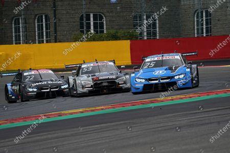 Philipp Eng (AUT#25), BMW Team RBM, Jamie Green (GBR#53), Audi Sport Team Rosberg, Lucas Auer (AUT#22), BMW Team RMR