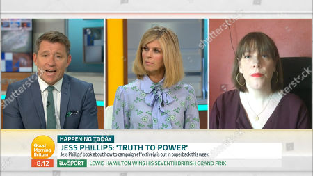 Stock Picture of Ben Shephard, Kate Garraway and Jess Phillips