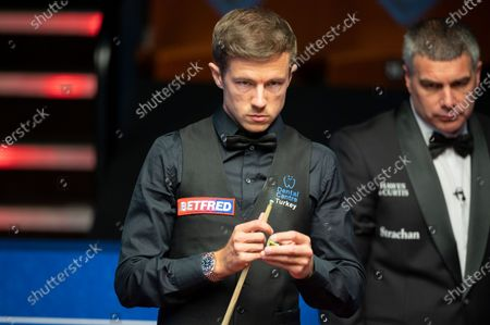Exclusive - Betfred World Snooker Championship, Day Four