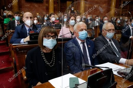Editorial photo of First Sitting of Serbia's National Assembly, Belgrade - 03 Aug 2020