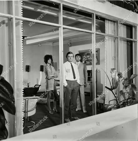 Editorial photo of 'Department S', TV Show, Episode 'Black Out' - 1969