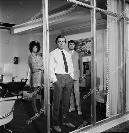 Editorial image of 'Department S', TV Show, Episode 'Black Out' - 1969