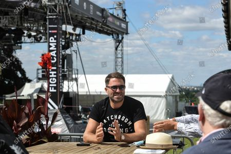 Stock Photo of Eddie Hearn has revealed talks are under way for the £5million Fight Camp experiment in his garden to be replicated next year. The promoter launches the first of four shows from the back yard of the Matchroom HQ in Brentwood, Essex, tonight and plans are taking shape to expand the concept. They include a return next summer with the possible addition of a reality TV series following fighters in the build-up.
