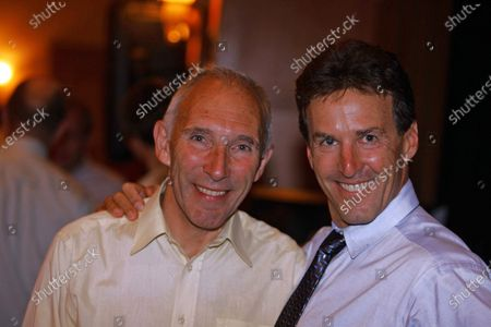 7-ELEVEN RE-UNION 16-06-2006 Davis Phinney; winner 328 races now suffering from Parkinsons talks with Phil Liggett.