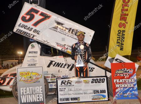 Editorial picture of Auto Racing Kyle Larson in Wisconsin, Plymouth, USA - 30 Jul 2020