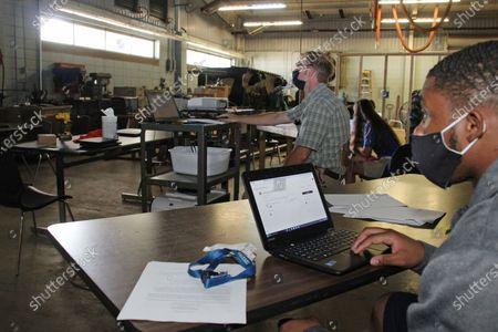 Editorial picture of Virus Outbreak Schools, Decatur, United States - 03 Aug 2020