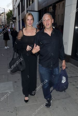 Editorial picture of Samantha Womack and Robert Rinder out and about, London, UK - 03 Aug 2020