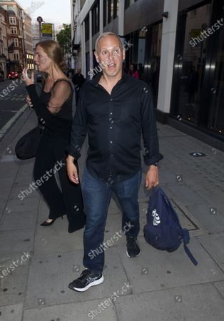 Stock Picture of Samantha Womack and Robert Rinder are seen walking together