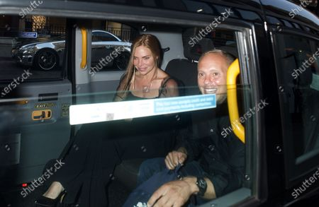 Stock Picture of Samantha Womack and Robert Rinder