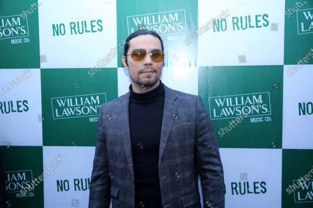 Bollywood actor Randeep Hooda spotted at the launch of William Lawson`s Music CD