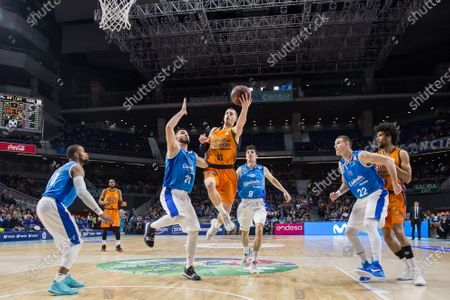 Editorial picture of Movistar Estudiantes vs Valencia Basket Club, Madrid, Spain - 23 Dec 2018