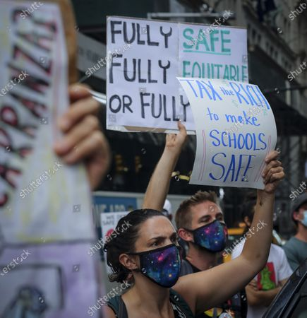 Editorial photo of Virus Outbreak School Reopening NYC, New York, United States - 03 Aug 2020