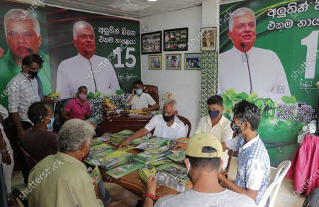 Editorial photo of Election Glance, Colombo, Sri Lanka - 27 Jul 2020