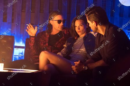 Michael Pitt as Kevin Cash, Anna Brewster as Shelby Dupree and Edgar Ramirez as Graham Bricke