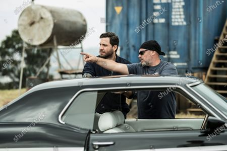 Edgar Ramirez as Graham Bricke and Olivier Megaton Director