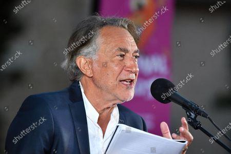 Editorial picture of Festival des Mots, Mougins, France - 03 Aug 2020