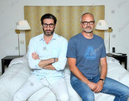 Fares Fares and Johan Rheborg