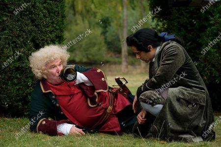 Douglas Hodge as Velementov and Sacha Dhawan as Orlo