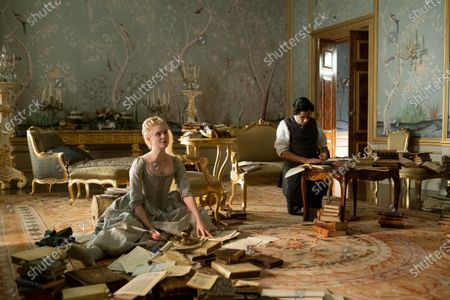 Elle Fanning as Catherine and Sacha Dhawan as Orlo