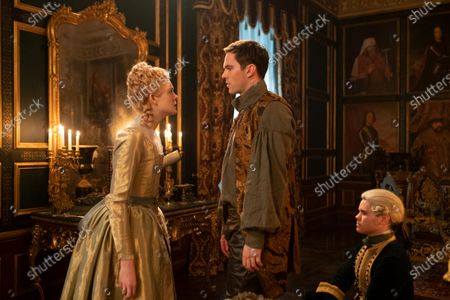 Elle Fanning as Catherine and Nicholas Hoult as Peter