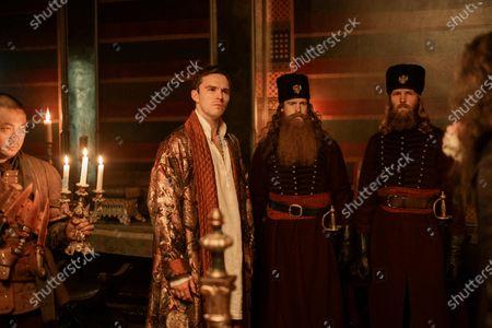 Christophe Tek as Tartar Nick and Nicholas Hoult as Peter