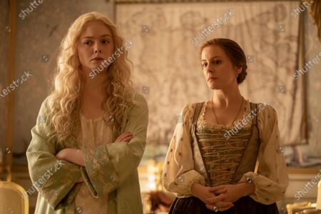 Elle Fanning as Catherine and Phoebe Fox as Marial