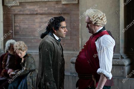 Stock Image of Sacha Dhawan as Orlo and Douglas Hodge as Velementov