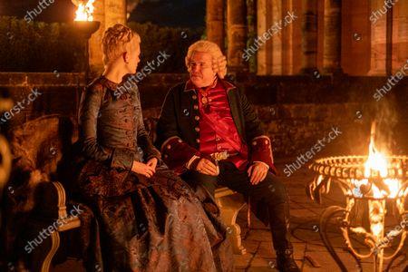 Elle Fanning as Catherine and Douglas Hodge as Velementov
