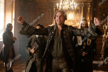 Nicholas Hoult as Peter and Adam Godley as Archbishop