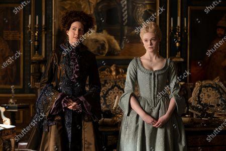 Belinda Bromilow as Aunt Elizabeth and Elle Fanning as Catherine