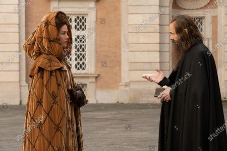 Belinda Bromilow as Aunt Elizabeth and Adam Godley as Archbishop