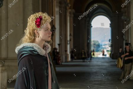 Stock Picture of Elle Fanning as Catherine