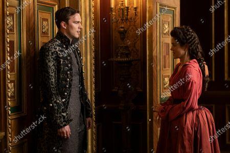 Nicholas Hoult as Peter and Charity Wakefield as Georgina