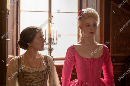 Phoebe Fox as Marial and Elle Fanning as Catherine