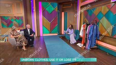 Stock Image of Ruth Langsford, Eamonn Holmes, Trinny Woodall