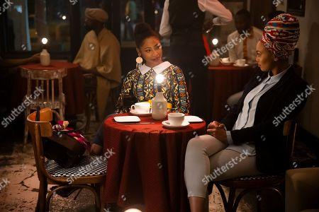Mbali Mlotshwa as Nova and Pearl Thusi as Queen Sono