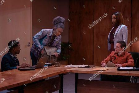 Pearl Thusi as Queen Sono, Mbali Mlotshwa as Nova and Rob van Vuuren as Viljoen