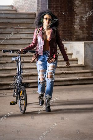 Stock Picture of Pearl Thusi as Queen Sono