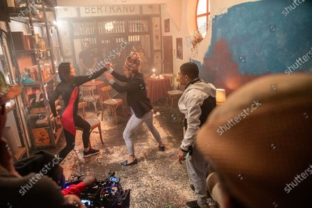 Kate Liquorish as eKaterina Gromova and Pearl Thusi as Queen Sono