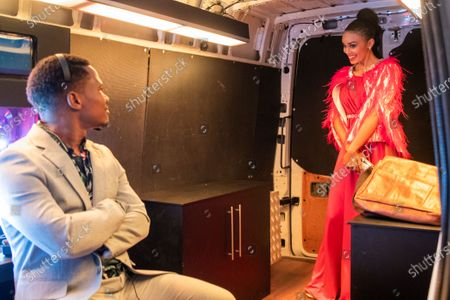 Loyiso Madinga as Fred and Pearl Thusi as Queen Sono