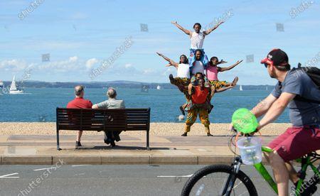 Redaktionelle Aufnahme von Zippos Circus reopens, Southsea, Portsmouth, UK - 04 Aug 2020