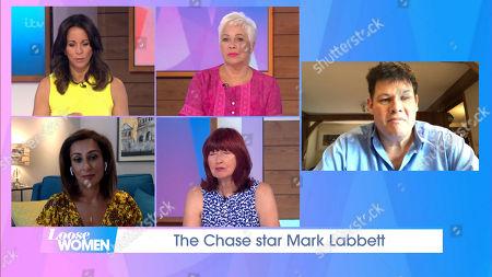 Andrea McLean, Denise Welch, Saira Khan, Janet Street-Porter, Mark Labbett